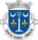 Brasão de Santa Maria - Óbidos