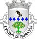 Brasão de São Vicente de Pereira Jusã