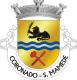 Brasão de São Mamede Coronado