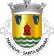 Brasão de Santa Bárbara - Manadas