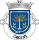 Brasão de Orgens