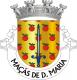 Brasão de Maçãs de Dona Maria